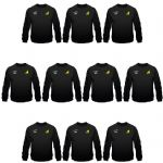 Embroidered Gas Safe Sweatshirts 10 Pack